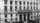 La devanture de la Bourse du travail a Paris (rue du Chateau d'Eau, 10e) est ornee d'une banderole syndicale revendiquant la journee de 8 heures le 1er mai 1906 (naissance du jour du travail) --- The front of the Labour market in Paris decorates by a trade-union banner to claim the 8 hours day on May 1, 1906 (birth of the day of work)